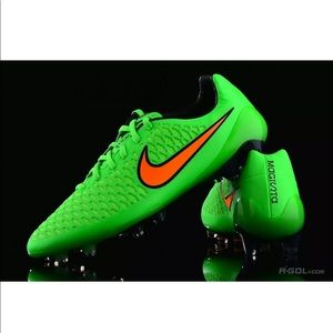 Nike Magista Opus FG Soccer Cleats Poison green